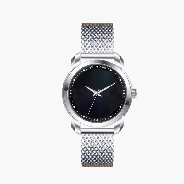 Obsidian Carbon Black - Aura Jewellery Watch Series
