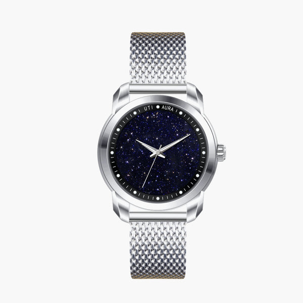 Bluegold Carbon Black - Aura Jewellery Watch Series