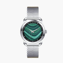 Load image into Gallery viewer, Malachite Carbon Black - Aura Jewellery Watch Series