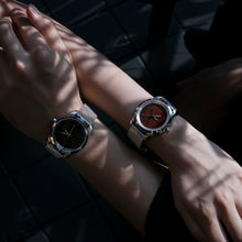 Load image into Gallery viewer, Picasso Jasper Carbon Black - Aura Jewellery Watch Series