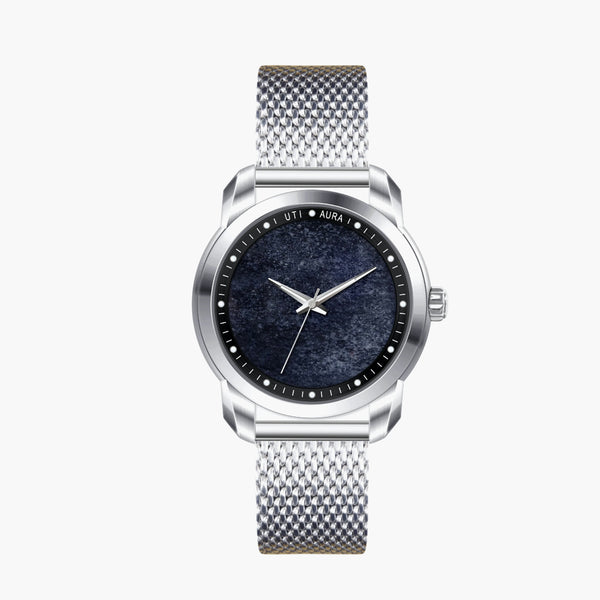 Picasso Jasper Carbon Black - Aura Jewellery Watch Series