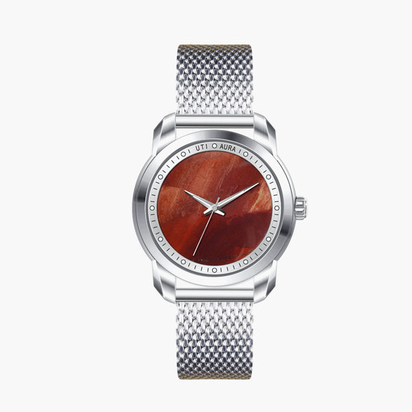 Lepidocrocite Silver White - Aura Jewellery Watch Series