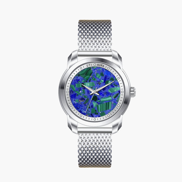 Lazurite Silver White- Aura Jewellery Watch Series