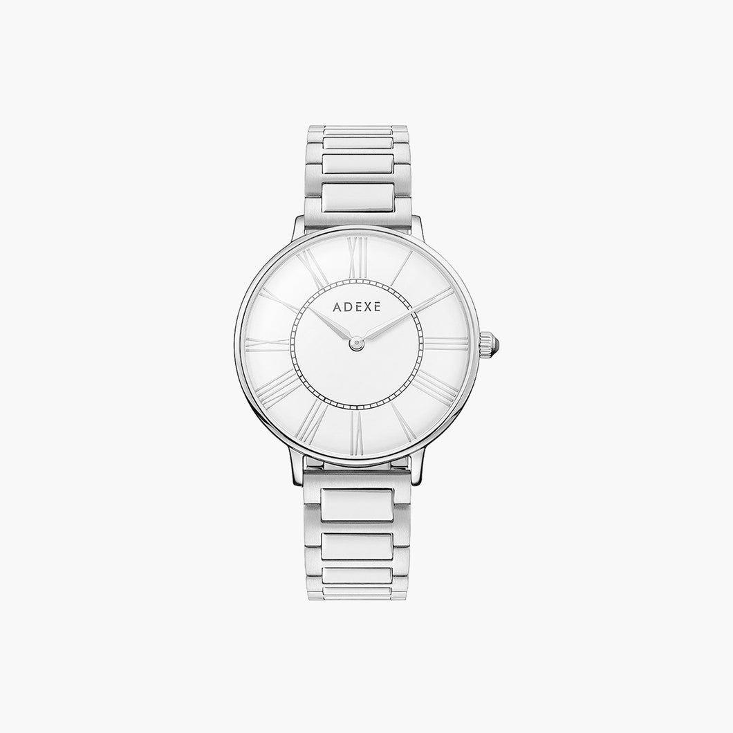 PALACE Petite Silver & White Case 33mm
