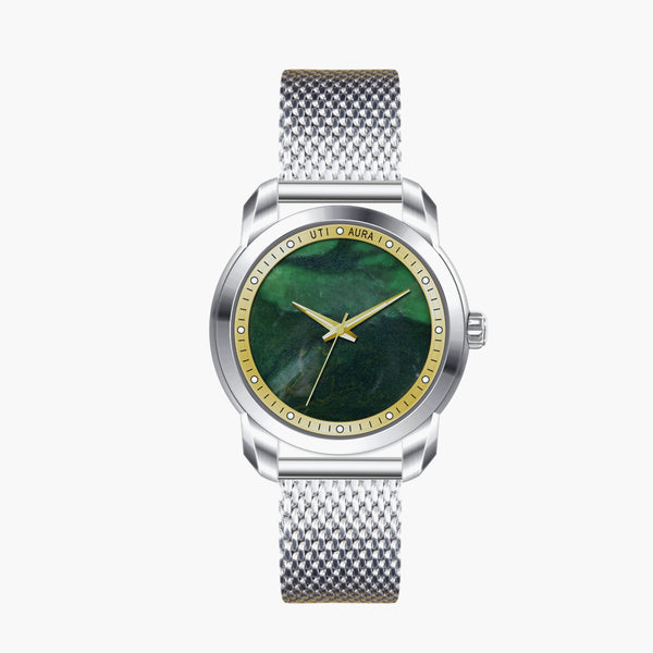 Australian Jade Gold - Aura Jewellery Watch Series