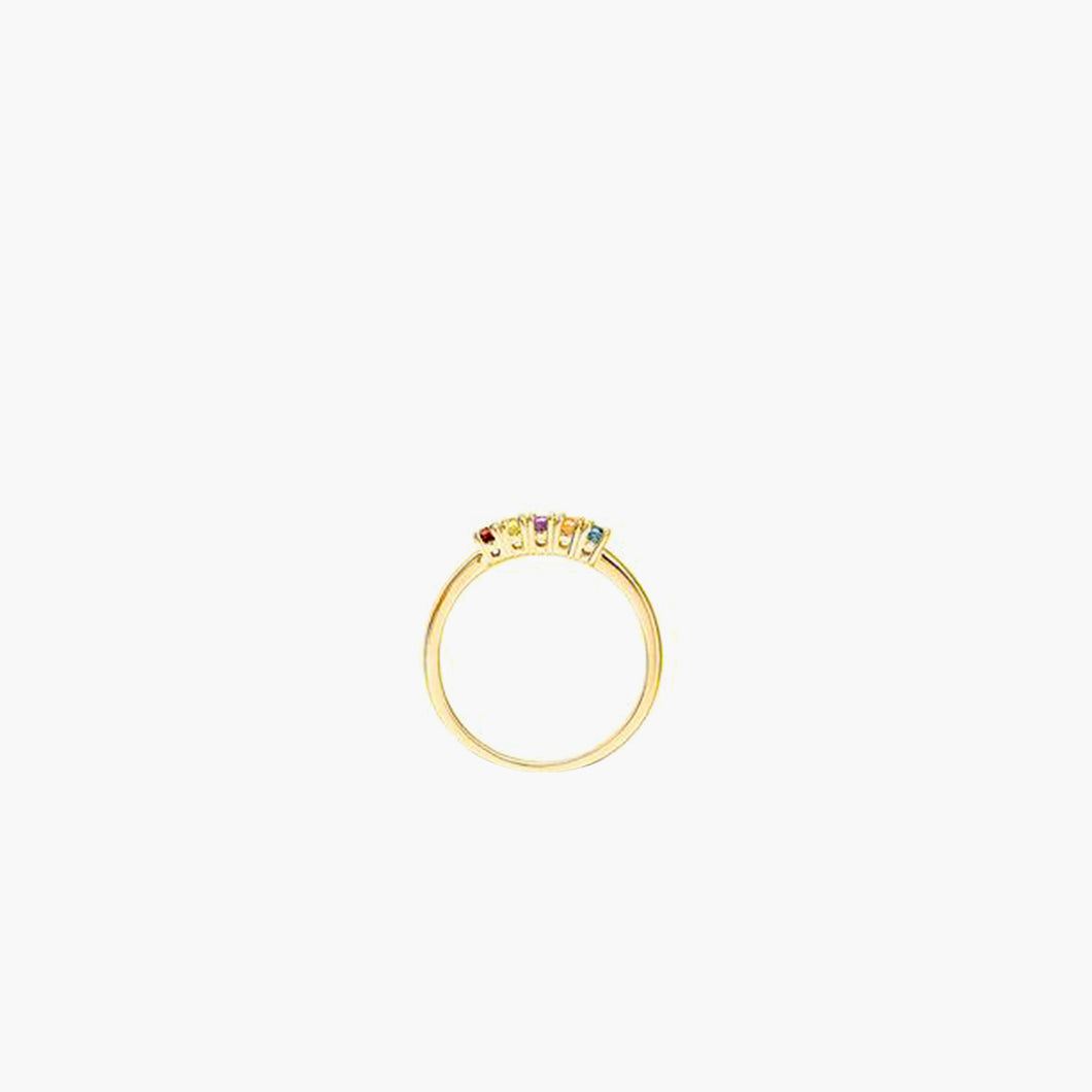 Briana 18K Solid Gold Ring
