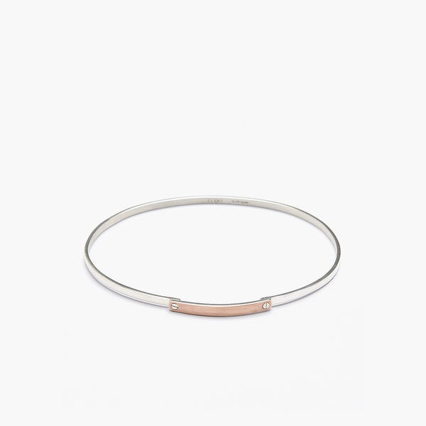L'amour 9K Gold Cap Connection Bracelet
