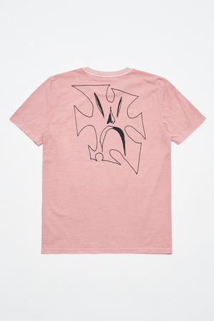 PUZZLE T-SHIRT (WASHED PINK)