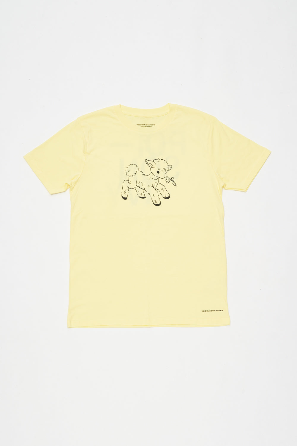 POISON IVY T-SHIRT (YELLOW)