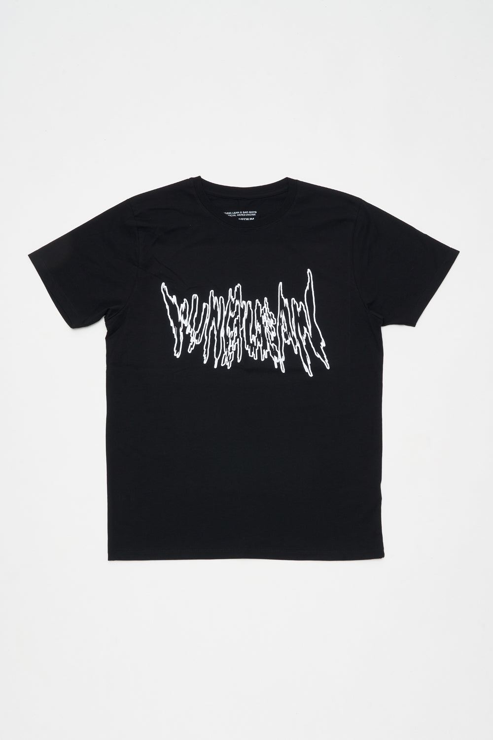 METAL LOGO T-SHIRT (BLACK)