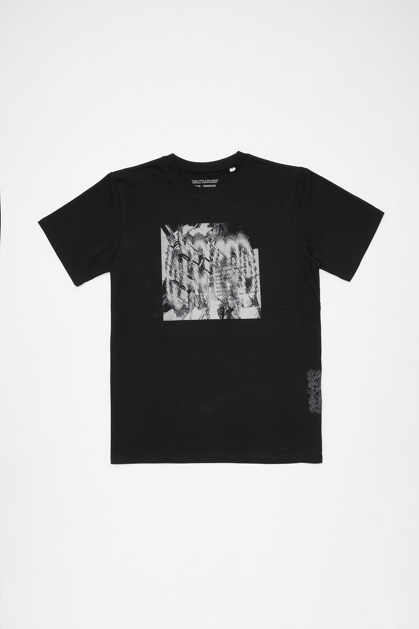 WARLORD COVER T-SHIRT (BLACK)