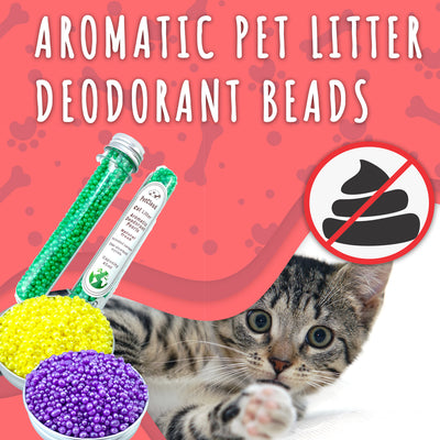 Aromatic Pet Litter Deodorant Beads