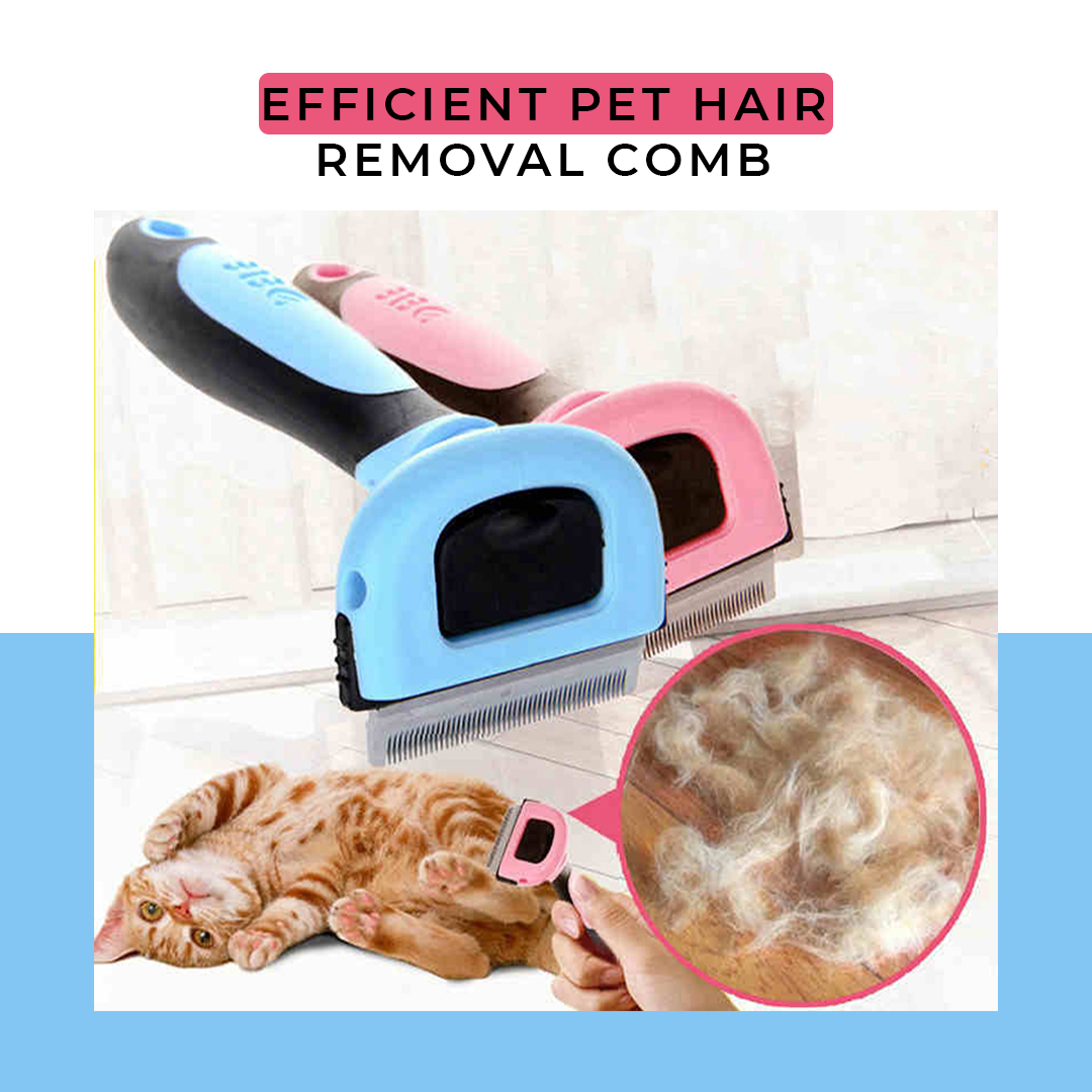 Efficient Pet Hair Removal Comb