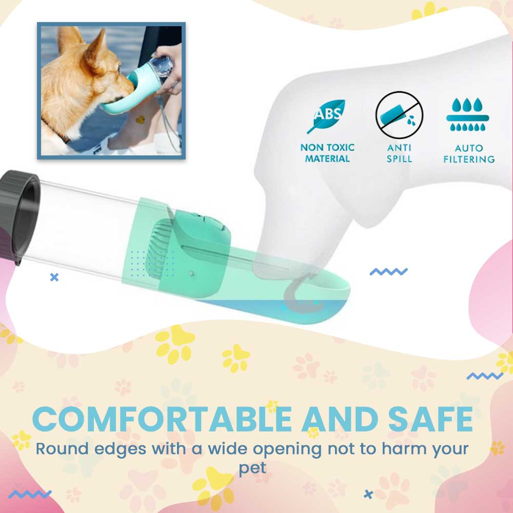 PupBottle™ Portable Collapsible Pet Water Bottle