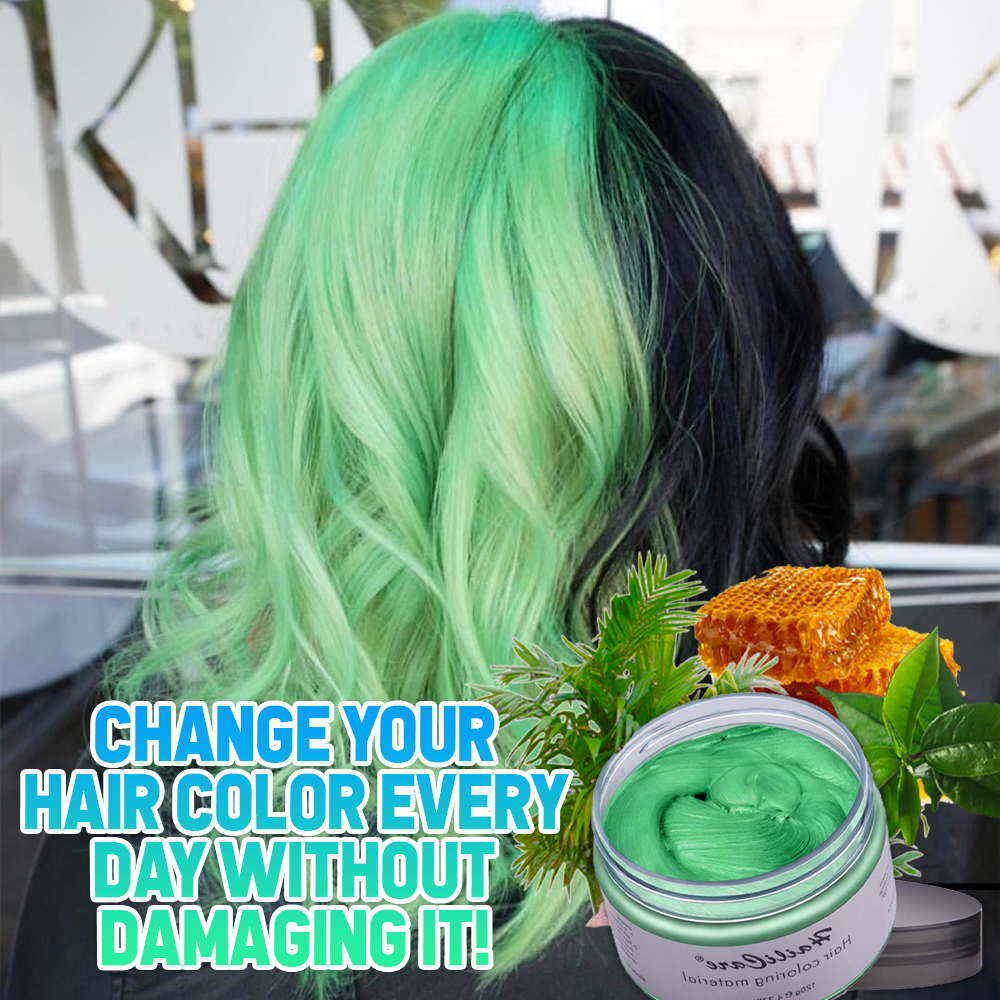 Temporary Color Hair Wax
