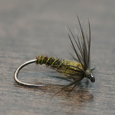 Blue Winged Olive Soft Hackle