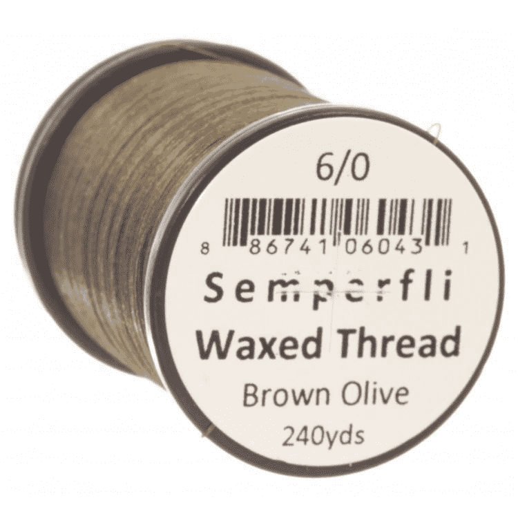 Semperfli Classic Waxed Thread - 6/0