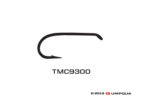 TMC Tiemco 9300 Dry & Wet Hook