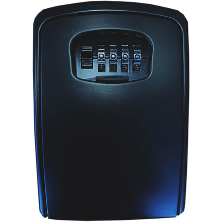 Key Lock Box Large/Wall Mount Black (WLKLB-13DP) - Strata Shop Online