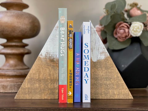 Mountain Book Ends