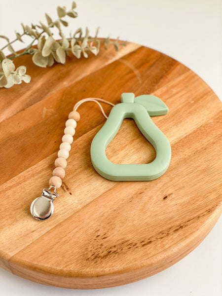 Pear Teether Set