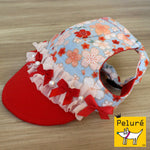 Walking Cap For Her - Oriental Petals - The Pet's Couture