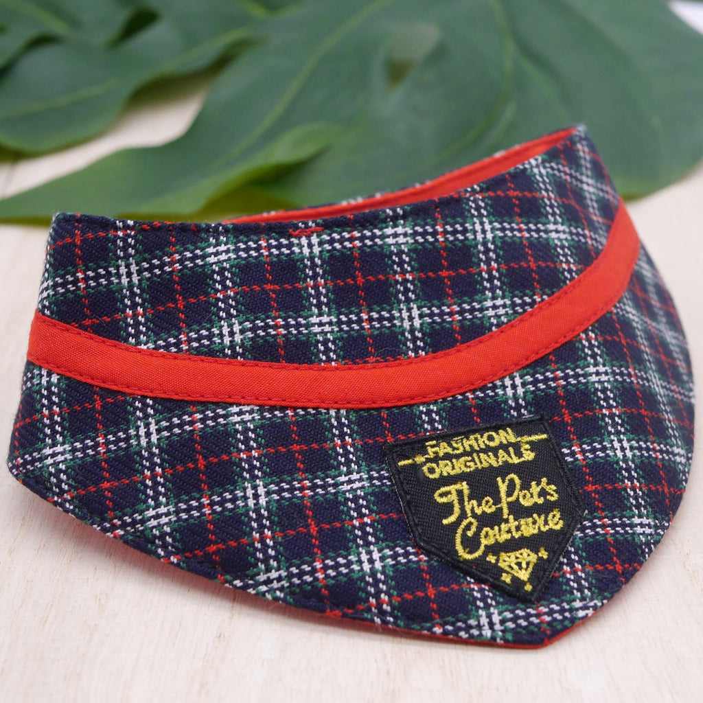 Bandanas - Royal Tartan Print - The Pet's Couture