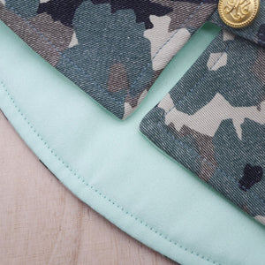 Capes - Delta Green (Army Camo) - The Pet's Couture