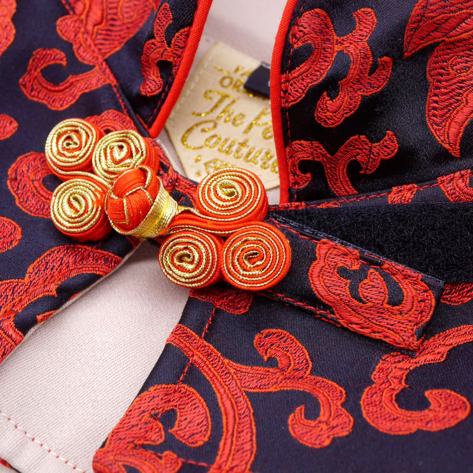 Capes -  Black Garnet | Chinese New Year Edition - The Pet's Couture