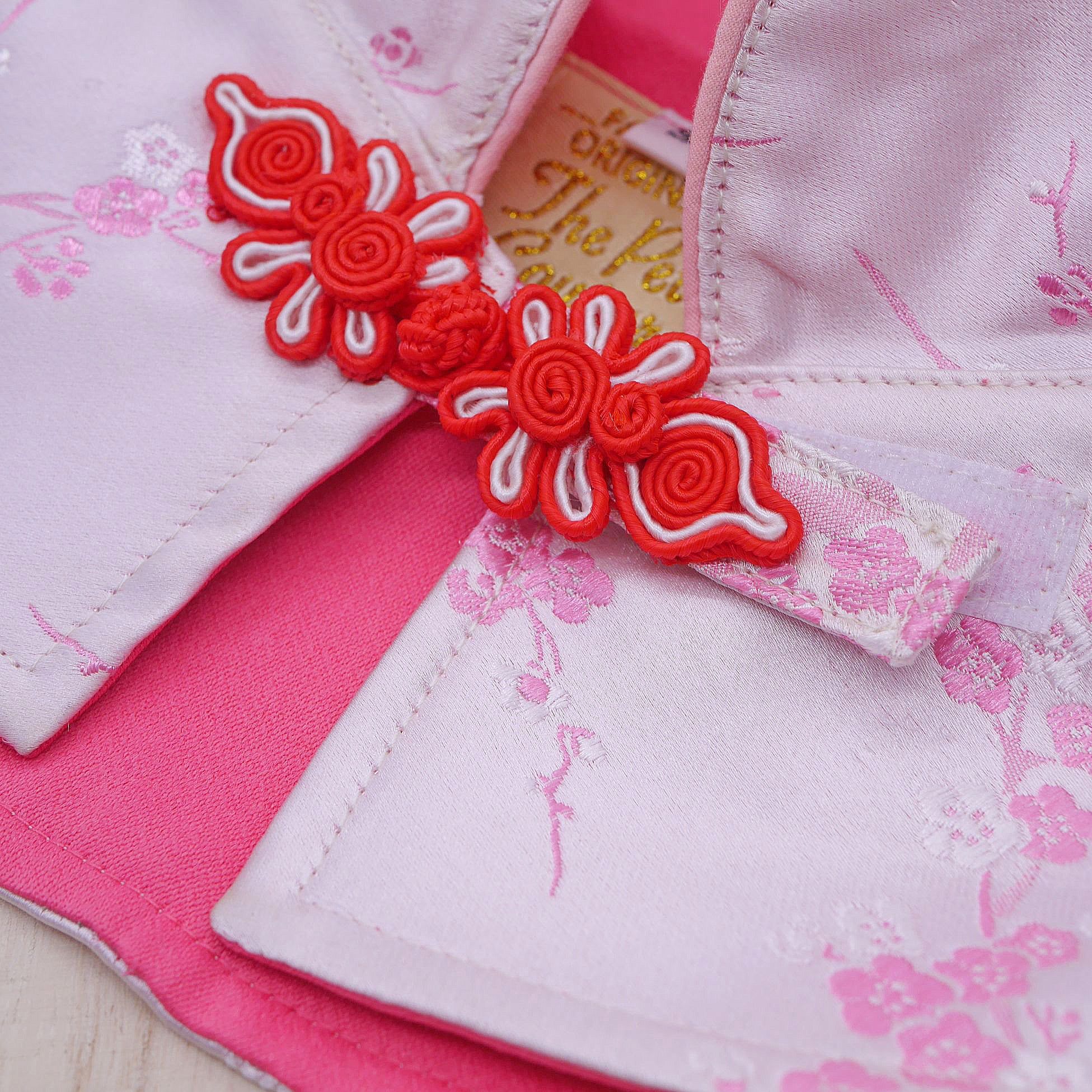 Capes -  Royal Pink | Chinese New Year Edition - The Pet's Couture