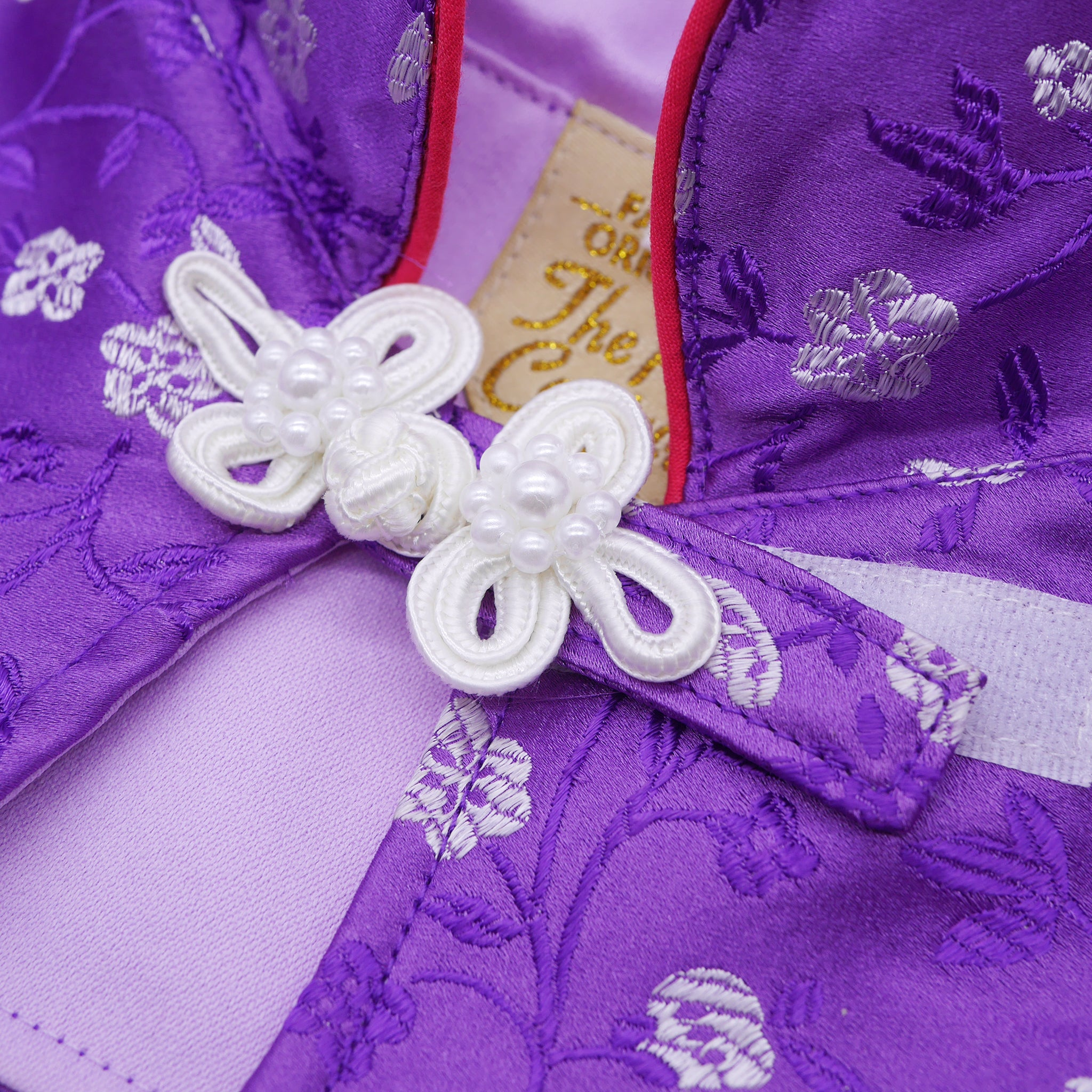 Capes -  Floral Amethyst | Chinese New Year Edition - The Pet's Couture