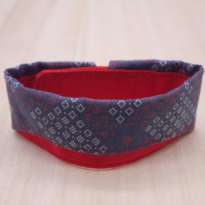 Dapper Collar - Indigo Blue - The Pet's Couture