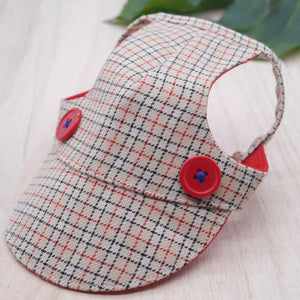 Walking Caps For Him - Cream Checkers