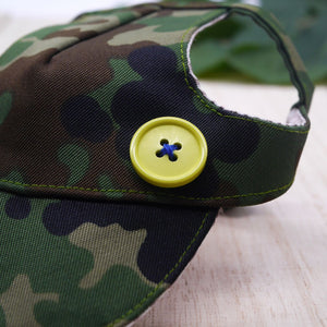 Walking Caps For Him - Green Camo - The Pet's Couture