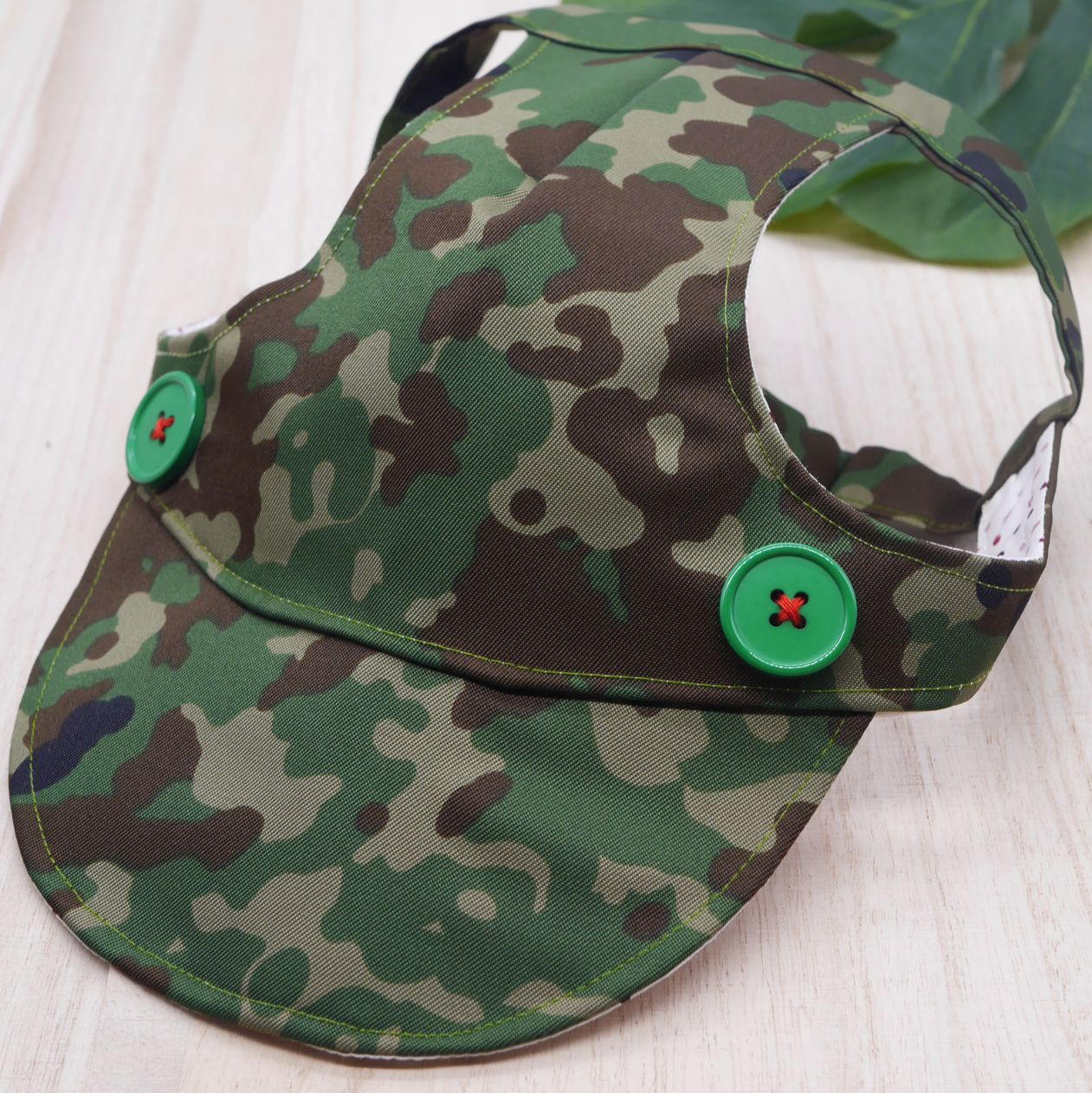 Walking Caps For Him - Green Camo