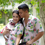 Tropical Fruits Matching Shirt by Twin In Style (Unisex) - The Pet's Couture