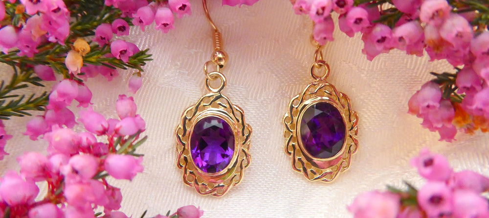 Handcrafted Jewellery Gold Earrings