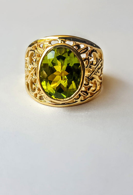 Handcrafted Jewellery Gold Ring