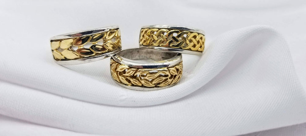 Handcrafted Jewellery Celtic Bands