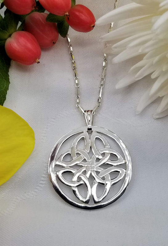 Handcrafted Jewellery Celtic Pendant