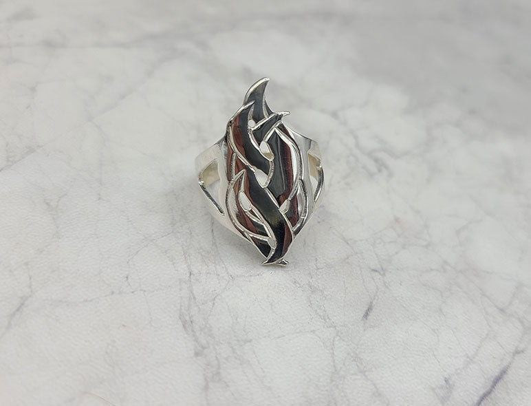 Celtic Serpent Ring