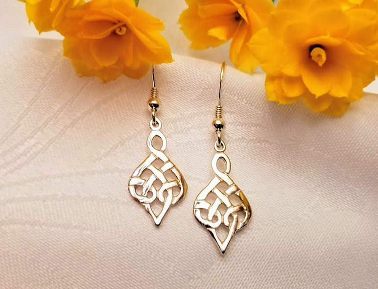 Celtic Teardrop Hearts
