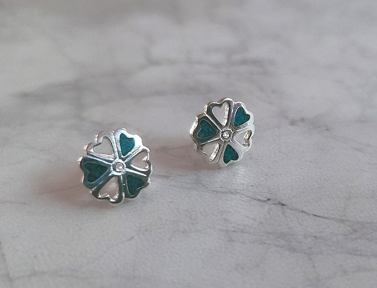 Hearts and Clover Earring