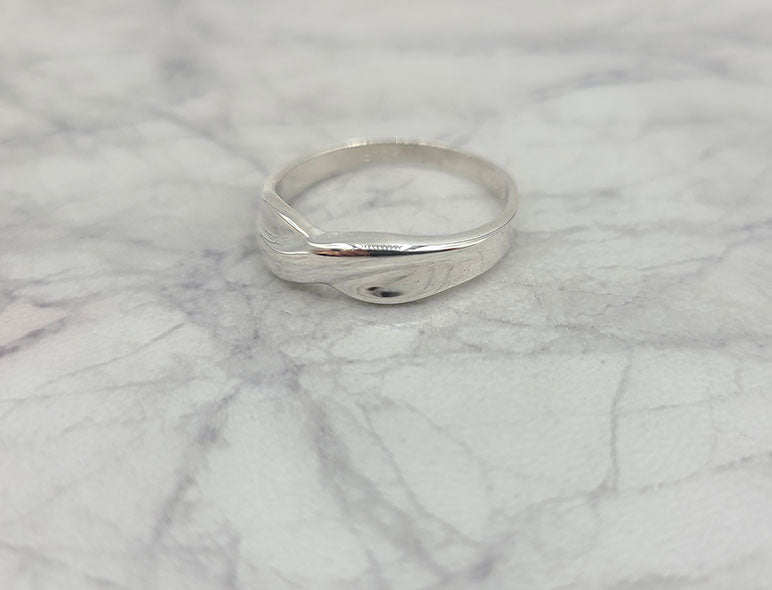 Narrow Knot Ring
