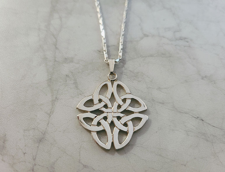 Silver Celtic Necklace