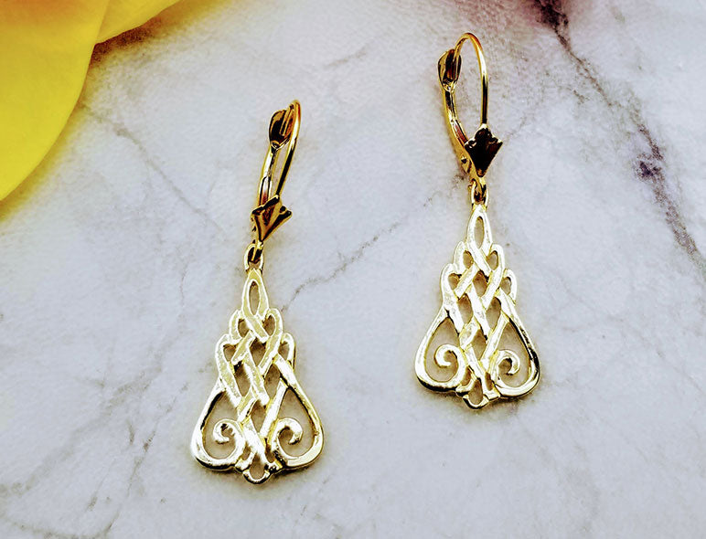 Talia Celtic Earrings