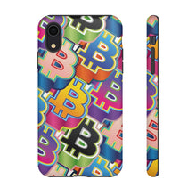 Load image into Gallery viewer, Bitcoin Pop Art Phone Hard Cases