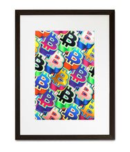 Load image into Gallery viewer, Bitcoin Pop Art
