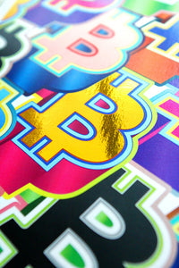 Bitcoin Pop Art