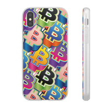 Load image into Gallery viewer, Bitcoin Pop Art Phone Flexible Cases